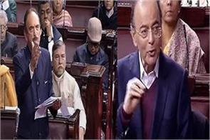 kashmiri debate over jaitley azad in rajya sabha