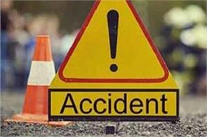 former sarpanch death in road accident