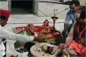 rajasthan muslim minister worshiping in shiva temple