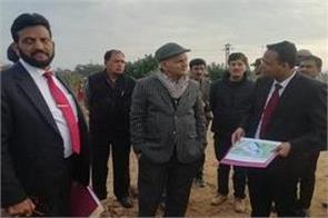 governor kk sharma visits katra