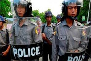 13 policemen killed in myanmar rebel attack