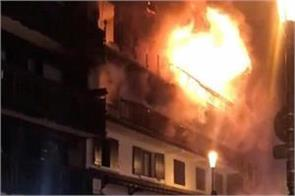 two people were killed 25 injured in a building fire in french courchevel