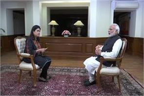 the opposition s motivated agenda came from pm s interview bjp