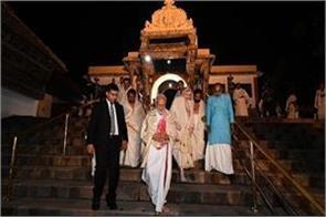 pm worshiped in padmanabhaswamy temple