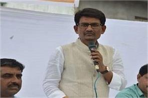 alpesh thakor angry with the congress