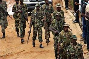 nigerian soldiers killed 58 dacoits