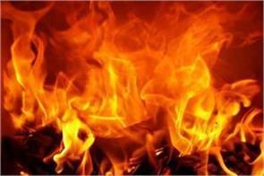 7 people burn in west bengal