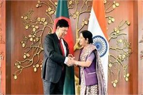 india gives highest priority to partnership with bangladesh sushma swaraj
