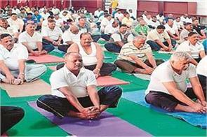 camps to  lighten  the police personnel with  excess weight