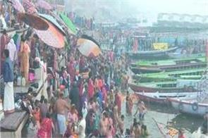 prayagraj the second royal bath of kumbh today