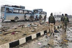 before the attack there was stone pelting on army buses