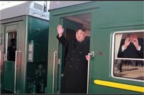 kim jong un takes train for vietnam meeting with trump