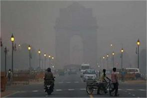 delhi air quality meteorology department