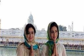 the heroine smile of punjabi films the harlequins in shri harimandir sahib