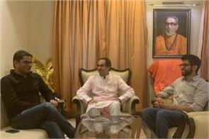 maharashtra prashant kishore meets uddhav thackeray on the advice of amit shah