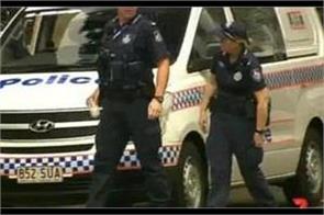 terrorist arrested at australian airport