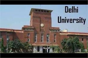 delhi university date sheet 2019