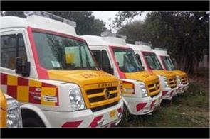 100 new ambulances to join health department