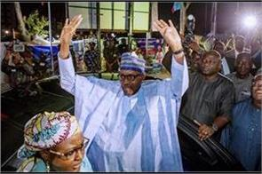 muhammadu buhari wins second term as nigeria s president