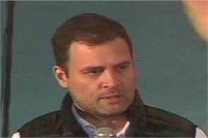 rahul gandhi at an interaction with university students from delhi
