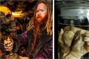 uk shop selling pickled human body parts flesh and animal skulls