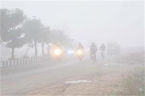 dense fog in jammu