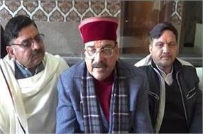 ajay bhatt speaks at the lok sabha election committee meeting