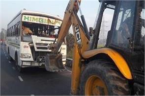 passenger bus overturned in chhapra