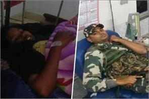 crpf jawans present example humanity encounter blood injured woman naxalite