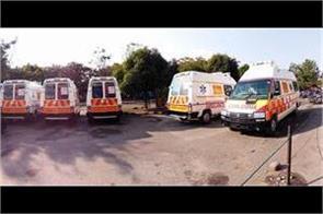 panchkula health department will get 5 new ambulances