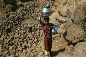 almost half of india s grip is drought