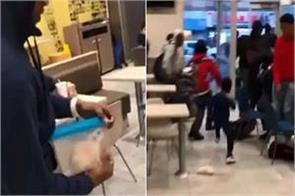 video shows man releasing rat inside new jersey mcdonald s viral video