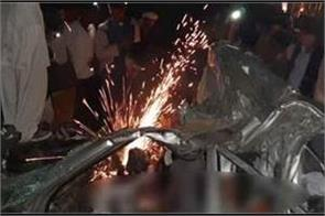road accident in kanpur 5 people killed in family of ips