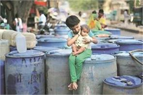 groundwater crisis in delhi may be water lost in 2020
