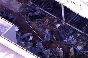 at least ten deaths in a brazilian soccer club fire
