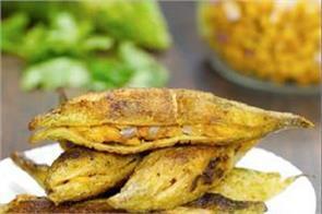 stuffed karela with chana dal