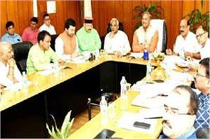 cabinet meeting chaired by cm