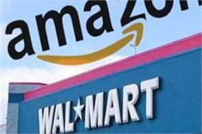 amazon walmart seizes 50 billion shock shares fall in us market