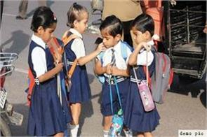 meghalaya government  decided weight school classes school bags