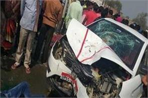 four members of same family die in varanasi road accident