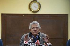 pre election may not be possible sitaram yechury