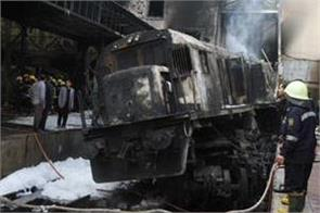 fiery train crash at cairo station kills 20