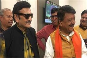 film actor joins bjp kailash vijayvargiya has given membership