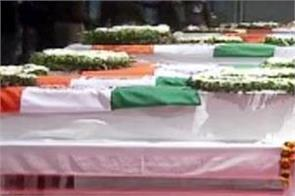 martyred soldiers dead bodies will be brought to delhi from c 17 globemaster