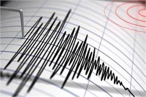 earthquake shocks in chhattisgarh