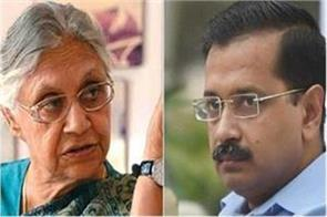 kejriwal never talked on the coalition has become desperate aap sheila