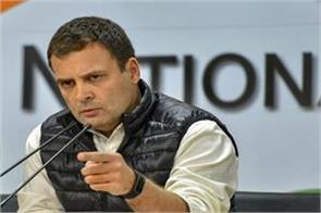 rahul disagree with modi s blessings on becoming pm