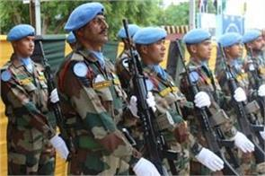 appreciation of the indian peacekeepers on un mission