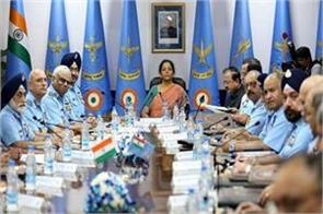 defense minister sitharaman will be meeting with all three army chiefs