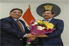 sushil chandra takes charge as new election commissioner